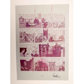 WALTHERY Natacha Le grand pari wallon plaque d'imprimerie 82 magenta (2)