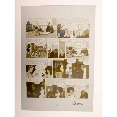 WALTHERY Natacha Le grand pari wallon plaque d'imprimerie 82 yellow (2)