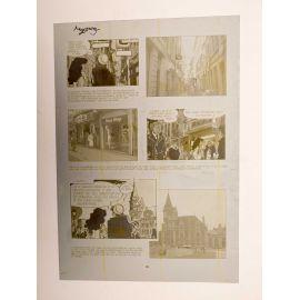 WALTHERY Natacha Le grand pari wallon plaque d'imprimerie 99 yellow