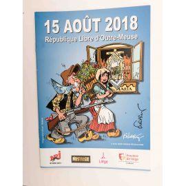 WALTHERY programme République Libre d'Outre-Meuse 2018 signé