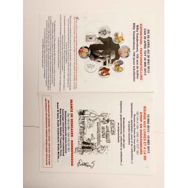 WALTHERY programme Festival BD Oupeye 2013 signé