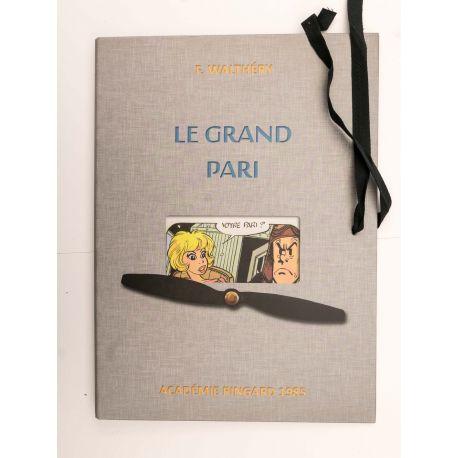 WALTHERY farde enveloppe et cartes postales TT Le Grand Pari