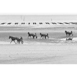 DECKERS Trotteurs à Utah Beach, tirage A5 numéroté et signé