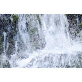 DECKERS Grande cascade du Tendon 1, tirage A5 numéroté et signé