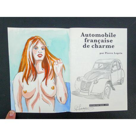 LEGEIN Automobile française de charme + dédicace a3