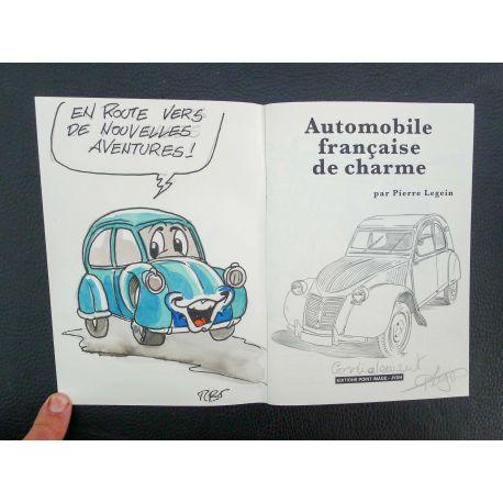 LEGEIN Automobile française de charme + dédicace a4