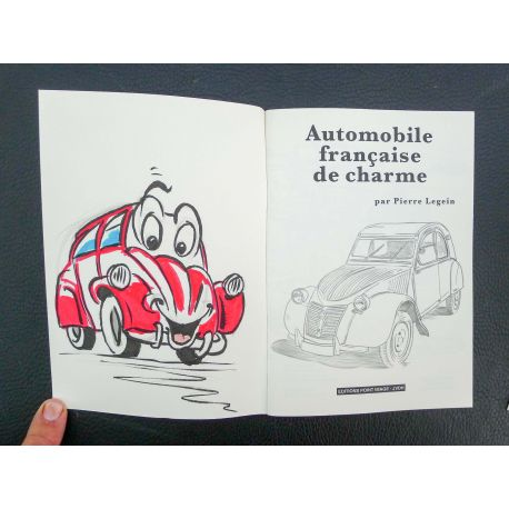 LEGEIN Automobile française de charme + dédicace a5