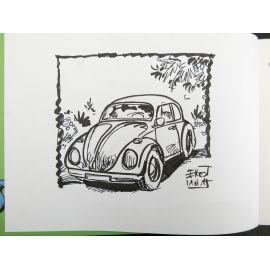 EHO La coccinelle et le combi VW + dédicace 4