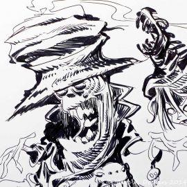 SAUVION dessin original A4 n° 32