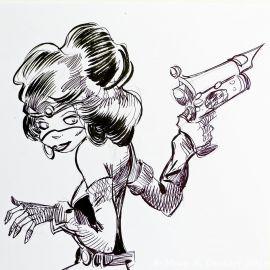 SAUVION dessin original A4 n° 46