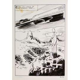 GIOLITTI ( Elvifrance ) planche originale 14-74