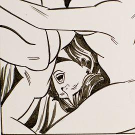 GIOLITTI ( Elvifrance ) planche originale 1-94