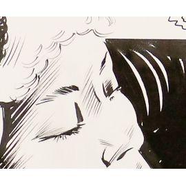 GABAGLIO ( Elvifrance ) planche originale 1-18