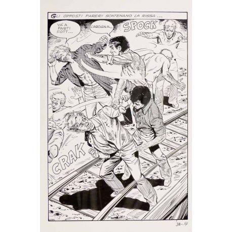 APARICI ( Elvifrance ) planche originale 38-54