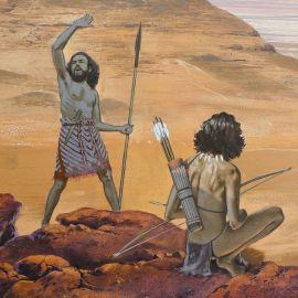 TORTON La Fresque biblique original 47 Les 400 d'Esau (tome 1 page 140)