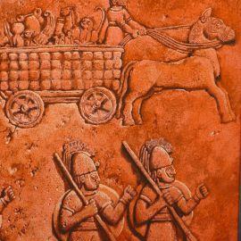 TORTON La Fresque biblique original 292 Israël sous la coupe des Araméens (tome 4 page 812)