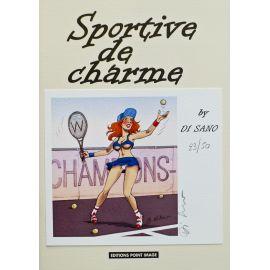 DI SANO Sportive de charme TT 50 ex numéroté et signé