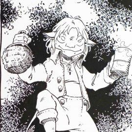 MIKA illustration pour page de titre des Korrigans