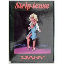 DANY portfolio de cartes postales Strip-Tease