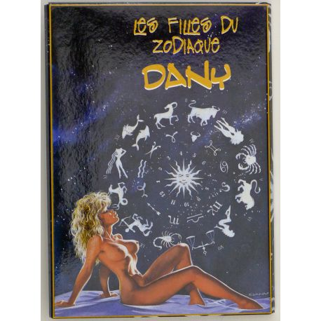 DANY portfolio de cartes postales Les filles du Zodiaque