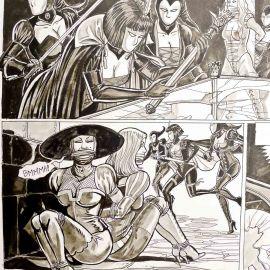 VAN DE WALLE Dans les griffes de Lady Sung planche 2