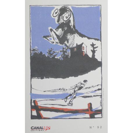 BAUDOUIN ex-libris Canal BD n° 92