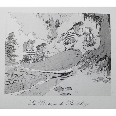 BENN ex-libris Tom Applepie Bédéphage