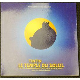 HERGE Tintin Le Temple du soleil CD + livret 2002