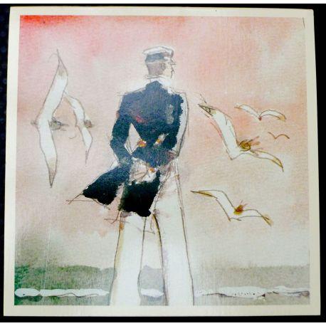 PRATT portfolio 6 cartes postales Femmes de Corto