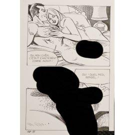 GROSSI ( Elvifrance ) planche originale 124-37