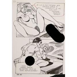 GROSSI ( Elvifrance ) planche originale 124-62