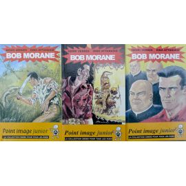 ATTANASIO Bob Morane lot des 3 Point Image Junior