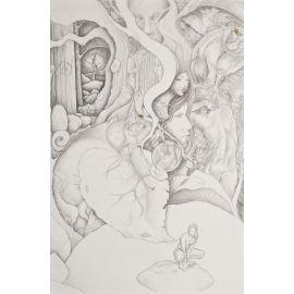 INTORCIA dessin-monde avec ALBANESE
