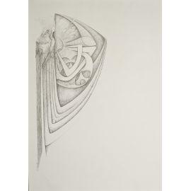 INTORCIA dessin de figure hiératique