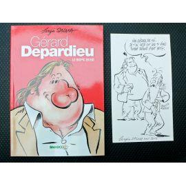 SALMA Gérard Depardieu Le biopic en BD + dédicace 3 ( Panoramix )