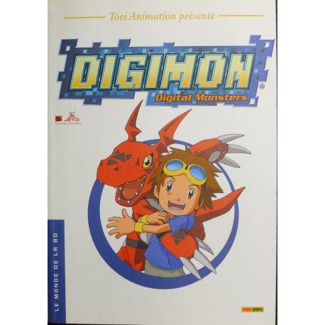 TOEI ANIMATIUON Digimon Monde BD n° 34