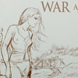 CHARLES War and Dreams crayonnés