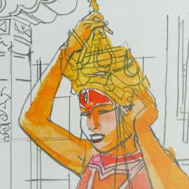 COSEY ex-libris Jonathan danseuse birmane