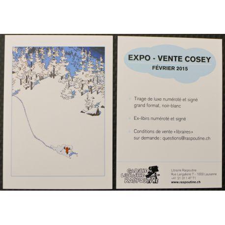 COSEY invitation expo Raspoutine 2015