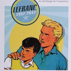 MARTIN Lefranc invitation expo Petits Papiers