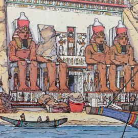 MARTIN Alix ex-libris A4 Le fleuve de jade