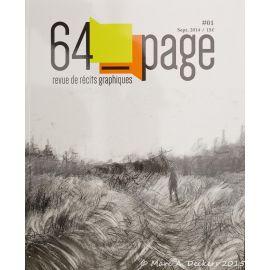 COLLECTIF 64 Page n° 1 revue de récits graphiques