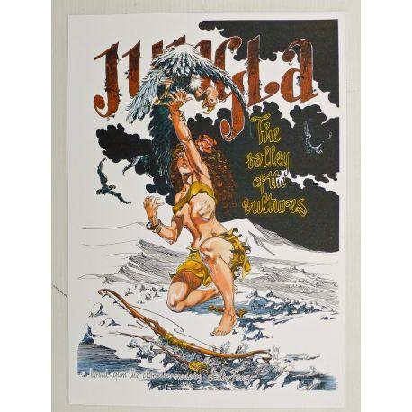 SEVERIN ex-libris Jungla non signé