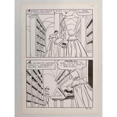 ANGIOLINI Isabella planche originale 120-16