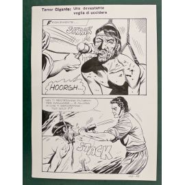 TODARO Destin de sang planche italienne 107-125