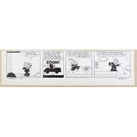 JONES & RIDGEWAY Mr Abernathy strip original 1-28 (51)