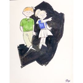 GIGI dessin original enfants n° 11