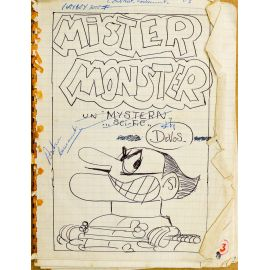 DEVOS Mister Monster storyboard original complet