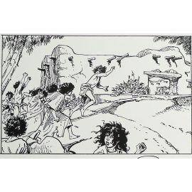FRANZ Le Décalogue tome X planche originale 7
